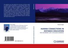 Capa do livro de HUMAN CONNECTIONS IN DISTANCE EDUCATION