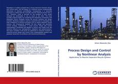 Buchcover von Process Design and Control by Nonlinear Analysis
