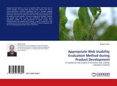 Couverture de Appropriate Web Usability Evaluation Method during Product Development