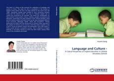 Language and Culture - kitap kapağı
