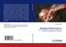 Bookcover of Bringing Citizens Back In: