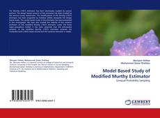 Bookcover of Model Based Study of Modified Murthy Estimator