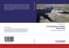 Capa do livro de Uncertainty in Water Resources