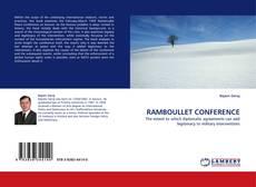 Capa do livro de RAMBOULLET CONFERENCE