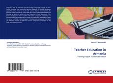 Portada del libro de Teacher Education in Armenia