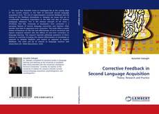 Buchcover von Corrective Feedback in Second Language Acquisition