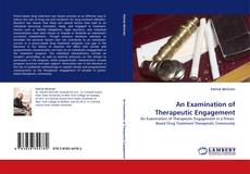 Buchcover von An Examination of Therapeutic Engagement