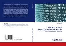 Capa do livro de PROJECT REVIEW SOLUTION-DIRECTED MODEL