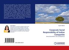 Capa do livro de Corporate Social Responsibility of Indian Companies