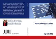 Capa do livro de Human Rights Education
