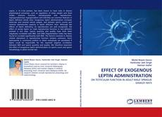Bookcover of EFFECT OF EXOGENOUS LEPTIN ADMINISTRATION