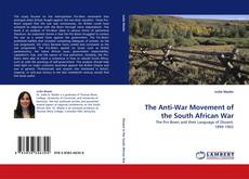 Copertina di The Anti-War Movement of the South African War