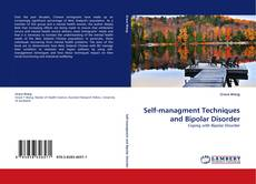 Bookcover of Self-managment Techniques and Bipolar Disorder