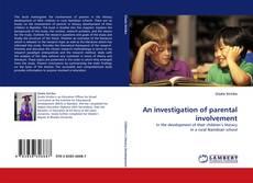 Capa do livro de An investigation of parental involvement