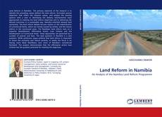 Bookcover of Land Reform in Namibia