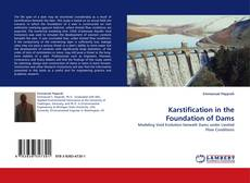 Bookcover of Karstification in the Foundation of Dams