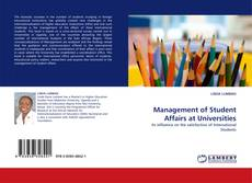 Bookcover of Management of Student Affairs at Universities