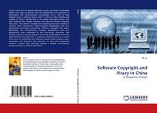 Copertina di Software Copyright and Piracy in China