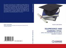 Bookcover of TELEPRESENCE AND LEARNING STYLE: