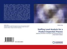 Copertina di Staffing Level Analysis for a Product Inspection Process