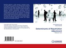 Portada del libro de Determinants of Repatriation Adjustment