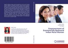 Portada del libro de Empowerment of Economically Backward Indian Rural Women
