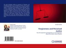 Capa do livro de Forgiveness and Perceived Justice