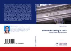 Bookcover of Universal Banking in India