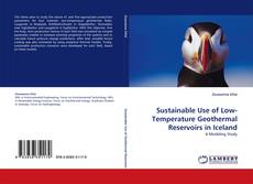 Portada del libro de Sustainable Use of Low-Temperature Geothermal Reservoirs in Iceland
