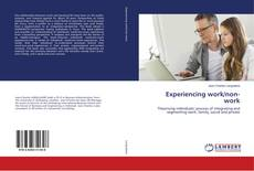 Bookcover of Experiencing work/non-work