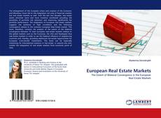 Couverture de European Real Estate Markets