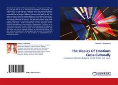 Copertina di The Display Of Emotions Cross-Culturally