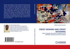 CREDIT DEMAND AND CREDIT RATIONING kitap kapağı
