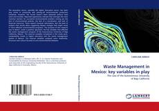 Bookcover of Waste Management in Mexico: key variables in play
