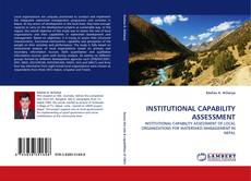 Portada del libro de INSTITUTIONAL CAPABILITY ASSESSMENT