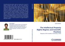 Capa do livro de The Intellectual Property Rights Regime and Scientific Practices