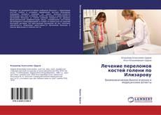 Capa do livro de Лечение  переломов  костей  голени по Илизарову
