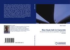 Copertina di Rice Husk Ash in Concrete