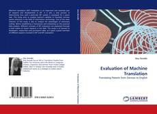 Bookcover of Evaluation of Machine Translation
