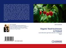 Bookcover of Organic food businesses in Finland