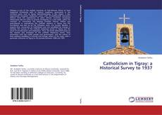 Bookcover of Catholicism in Tigray: a Historical Survey to 1937