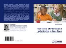 Buchcover von The Benefits of International Volunteering in Cape Town