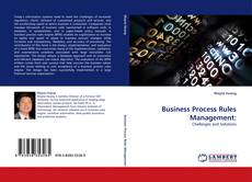 Bookcover of Business Process Rules Management: