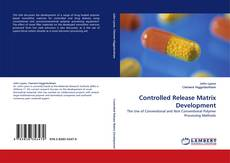 Buchcover von Controlled Release Matrix Development