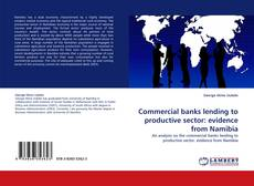 Bookcover of Commercial banks lending to productive sector: evidence from Namibia