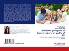 Обложка Residents'' perception of tourism impacts on quality of life