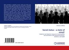 Bookcover of Social status - a state of mind?