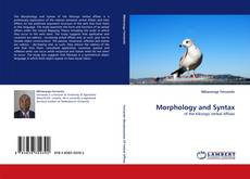 Bookcover of Morphology and Syntax