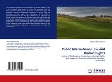 Bookcover of Public International Law and Human Rights