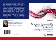 Bookcover of Performance Management in Pakistani Institutions of Higher Learning
